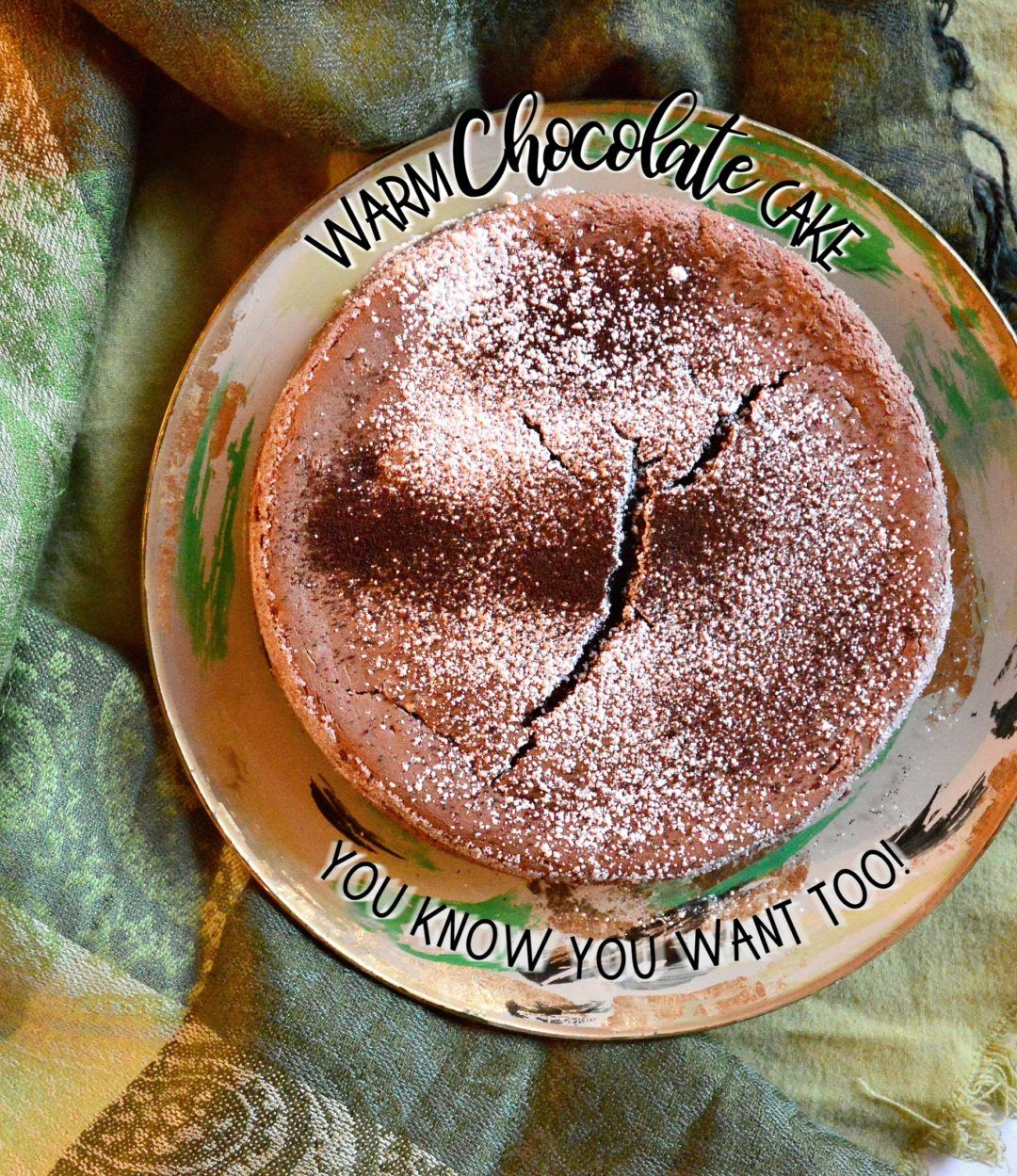 Warm Chocolate Cake #Choctoberfest with Imperial Sugar