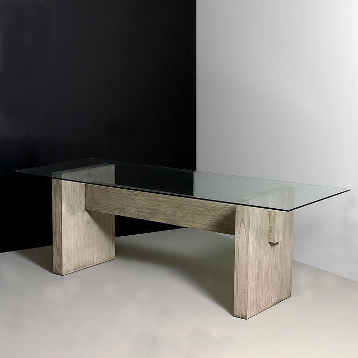 1000+ images about Guice mesas de comedor modernas con vidrio on ...
