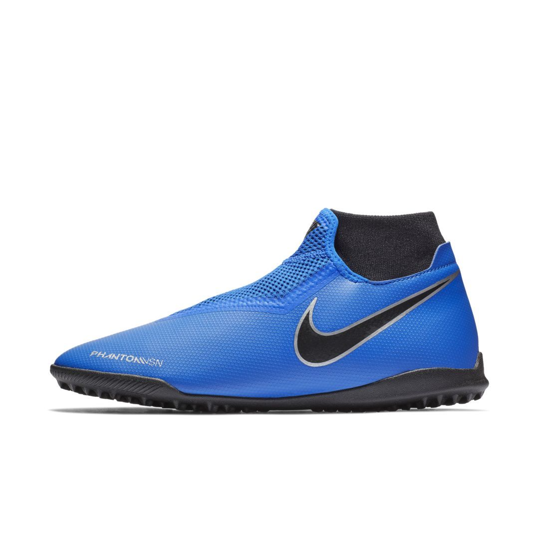 Nike Phantom Vision Academy Dynamic Fit Turf Soccer Shoe Size 12 5 Racer Blue Astro Turf Trainers Soccer Shoe Football Boots