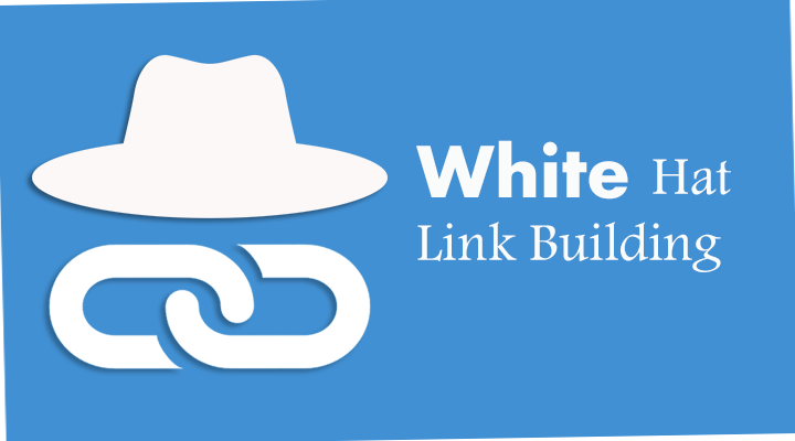 White hat link building is certainly the way to build a