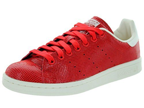 Adidas Women\u0027s Stan Smith W Red/Red/Cwhite Casual Shoe 7.