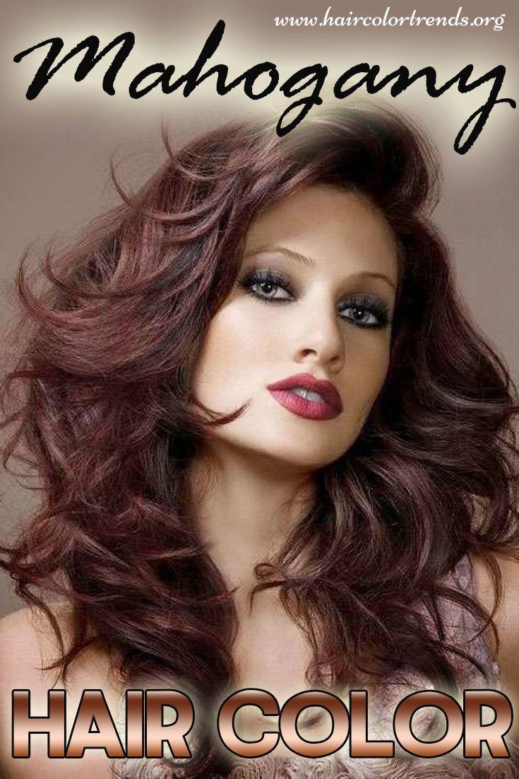 Mahogany Hair Color Long Hair Styles Hair Styles 2014 Cool Hair Color