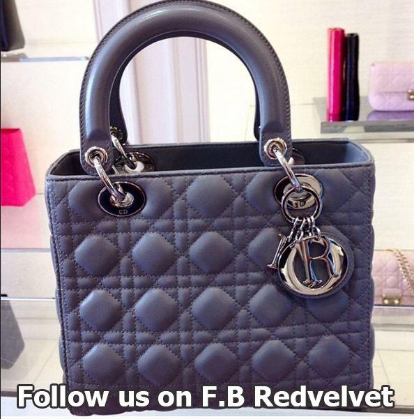 005b5fddce7b6 Lady Dior للبيع حقيبة يد نسائية من الجلد الطبيعى ماركة تناسبك فى الخروج  اليومى ومتوفر منها اللون الرمادى والبينك بسعر 14800 …
