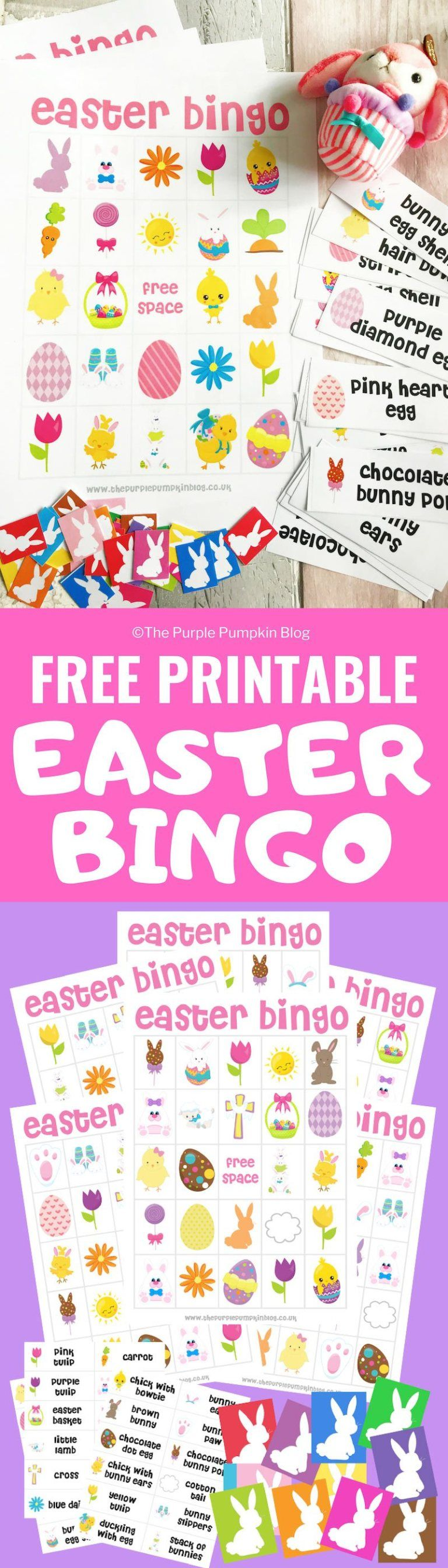 Free Printable Easter Bingo Game
