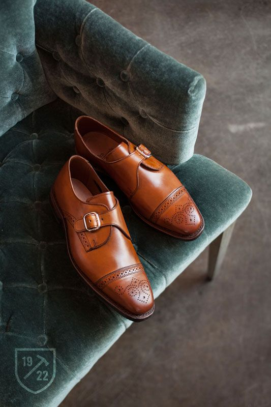 Walnut color dress shoes