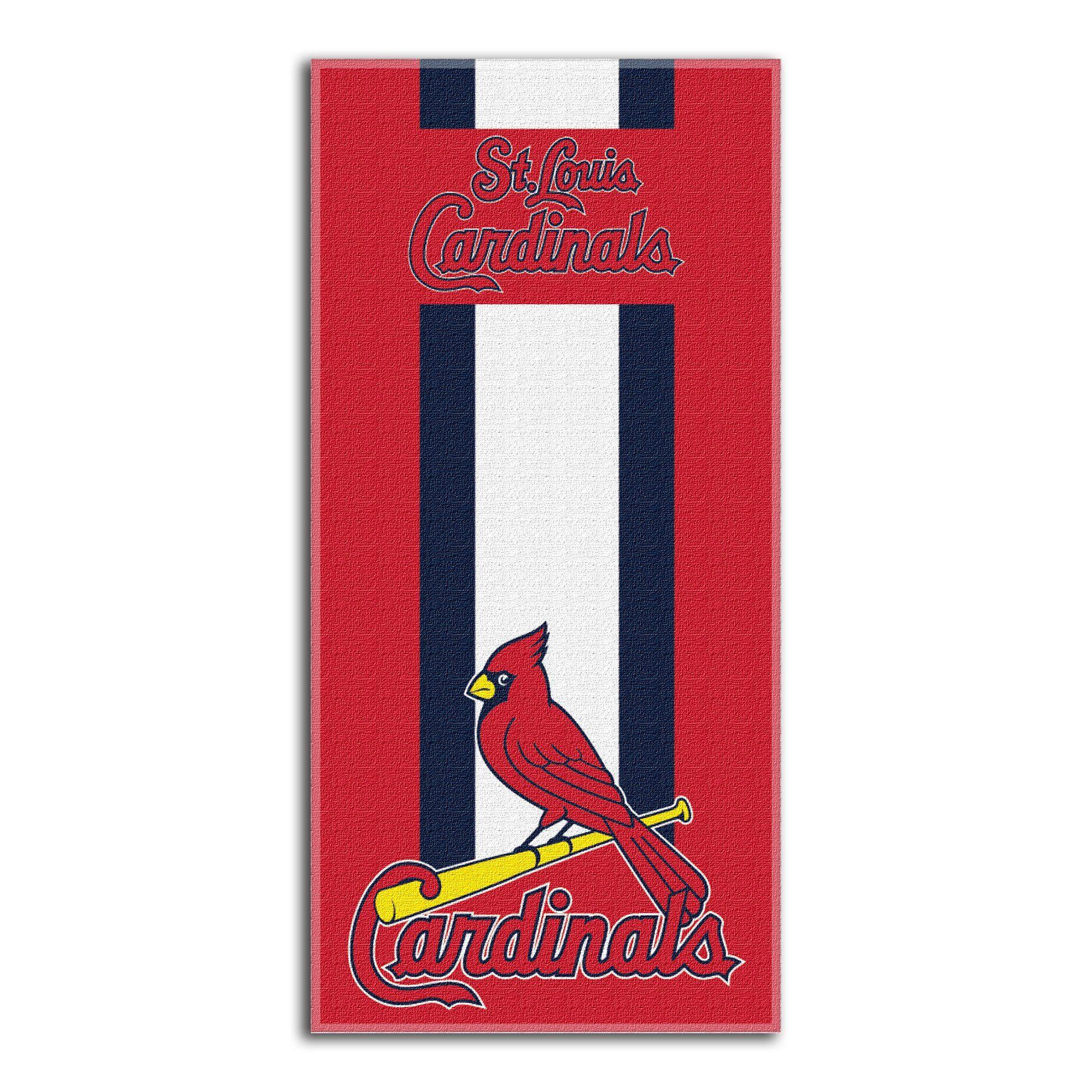 Cardinals Major League Baseball Zone Read 30 X 60 Beach