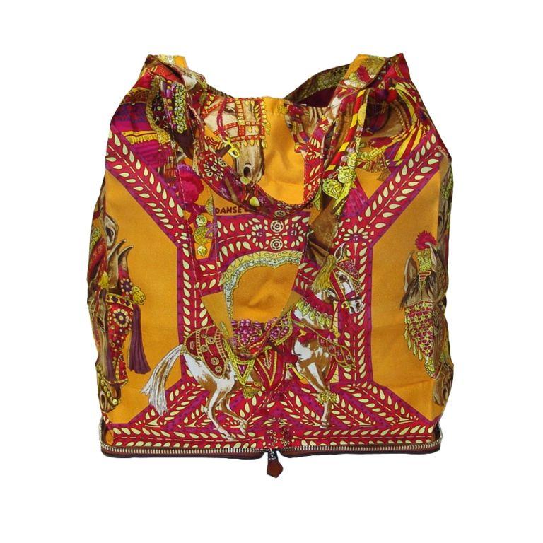 a855b55fa0be 1stdibs - Hermes Silky Pop-Up Tote Handbag explore items from 1