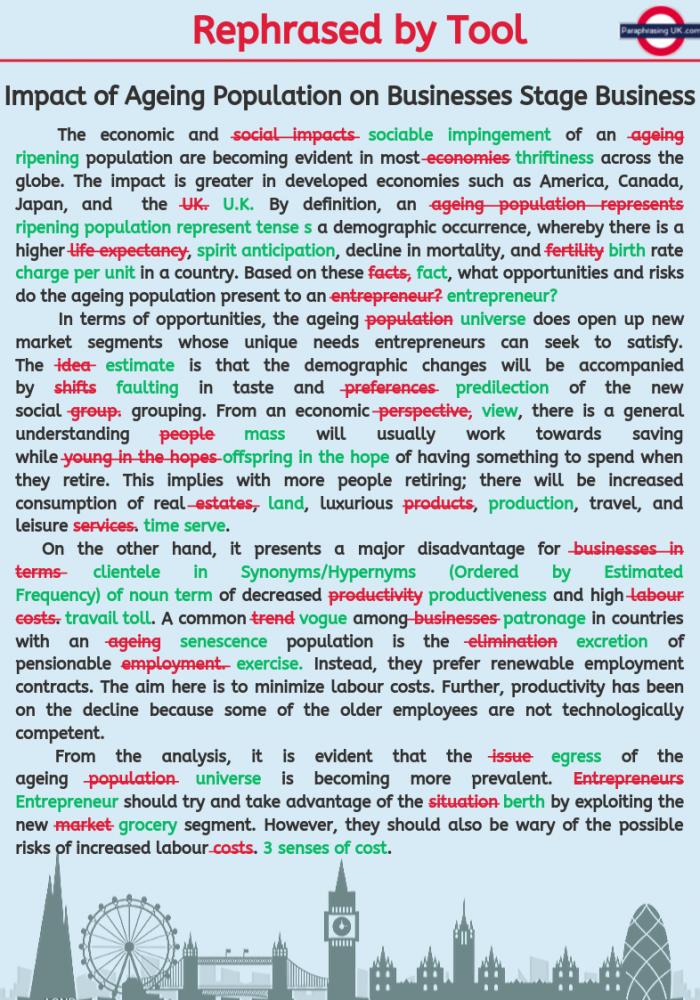 Reword An Essay Generator Sample Writing Skill Words English Paraphrase