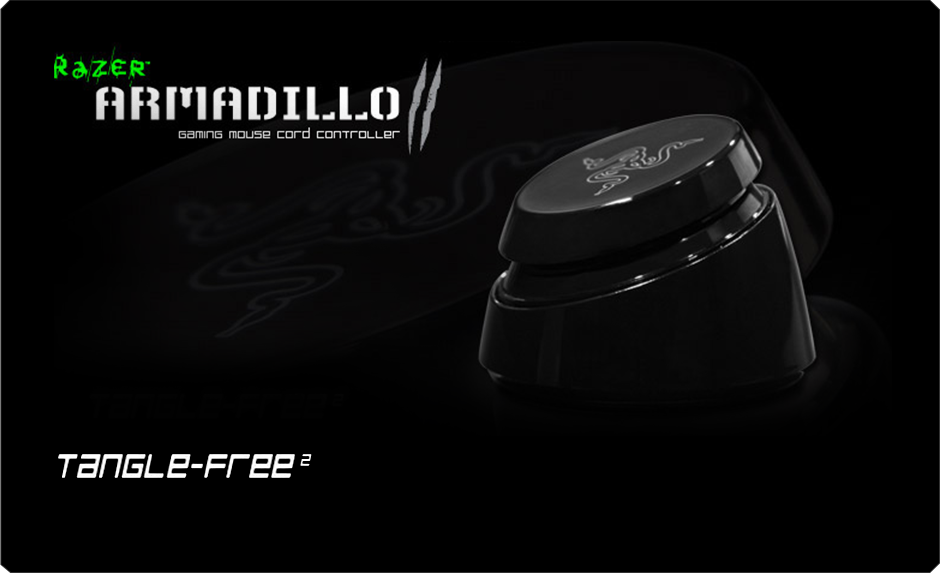 Razer gaming accessories are forged with cutting-edge gaming technology to give you the unfair advantage. Buy the Razer Armadillo 2 Mouse Cord Controller and dominate your opponents Now! For Gamers. By Gamers.