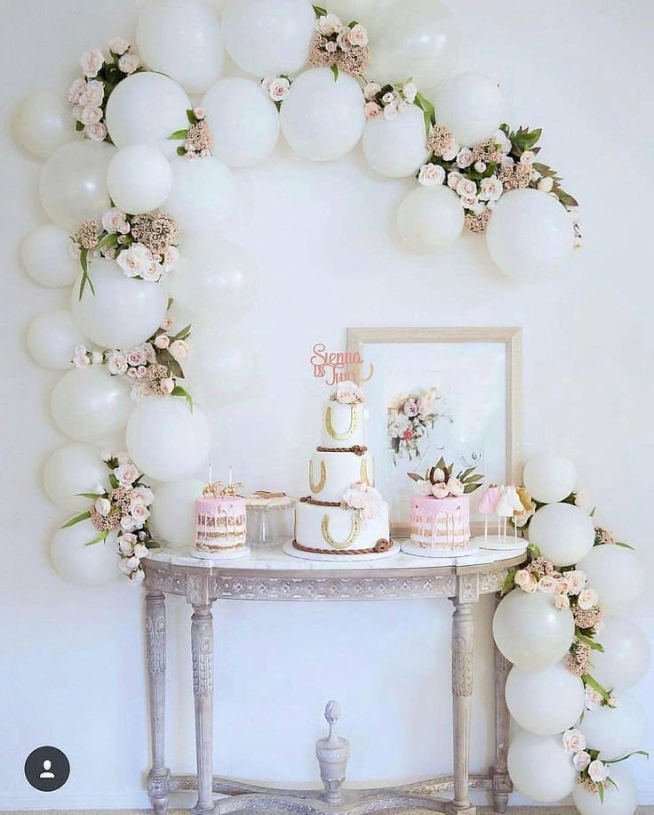 How To Decorate The Dessert Table #balloongarland