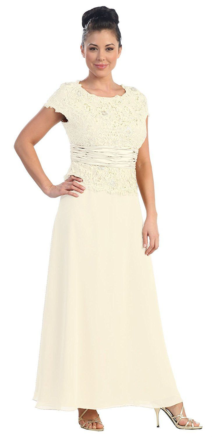 Mother of the groom dresses afternoon wedding  Long Mother of the Bride Dress   Weddings weddings weddings