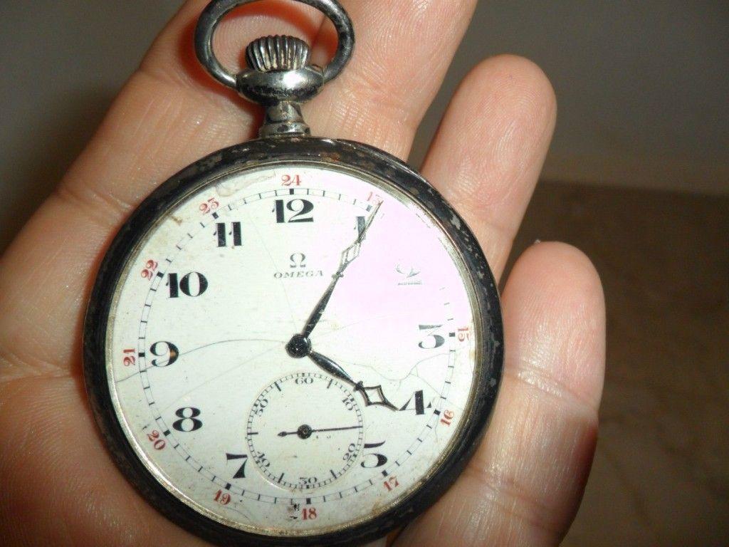 f318a2ed156 Lindo Relógio Antigo Omega