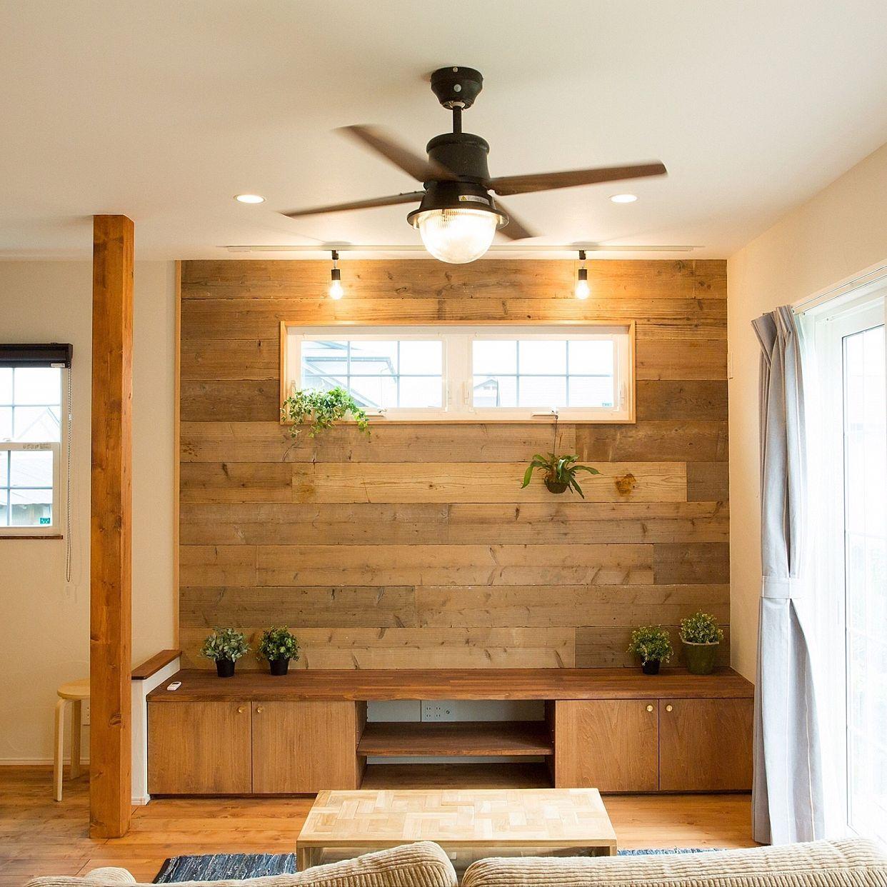 壁 天井 モーガルソケット コウモリラン 造作テレビ台 足場板 などの