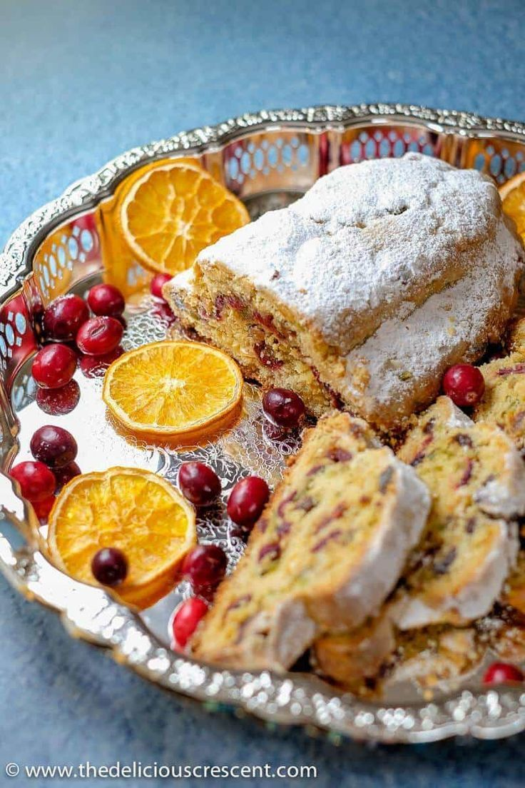 Cranberry orange quark stollen is a more easy and quick ...