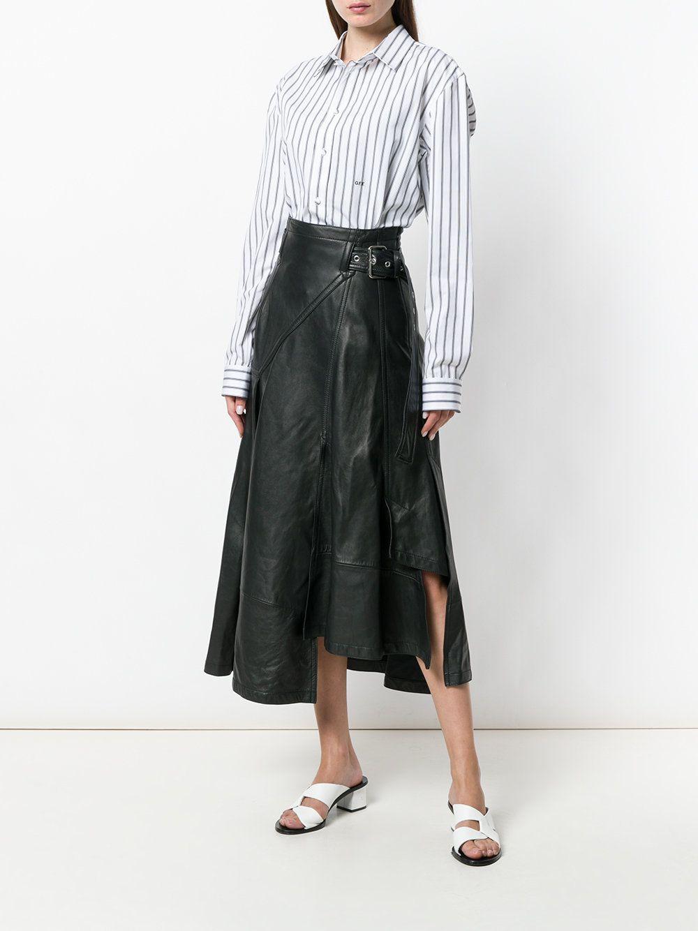 434f5cbd9f053e 3.1 Phillip Lim asymmetrical hem long skirt
