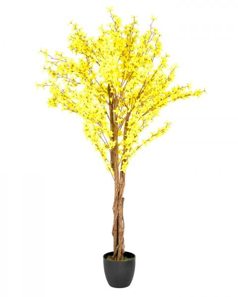 Artificial forsythia tree yellow silk flowers pohon pinterest artificial forsythia tree yellow silk flowers mightylinksfo