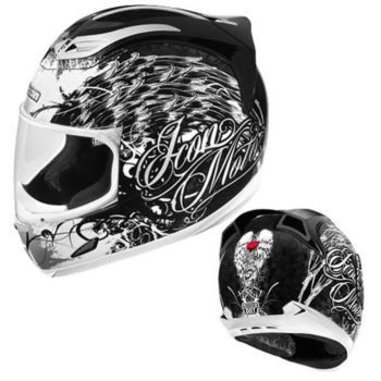 Icon Women S Airframe Street Angel Full Face Motorcycle