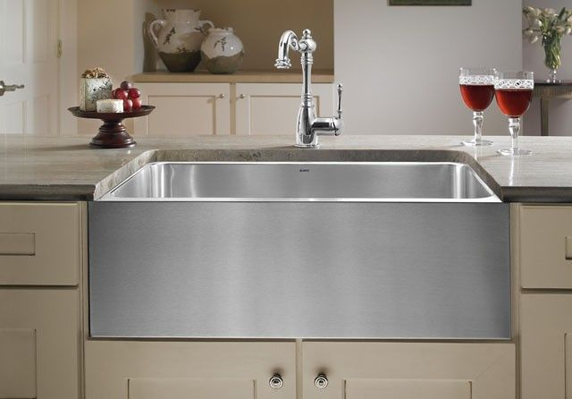 Blanco Blancomagnum Large Single Bowl Sink With Apron 440296