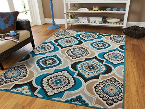 Century Home Goods Collection Panal And Diamonds Area Rug