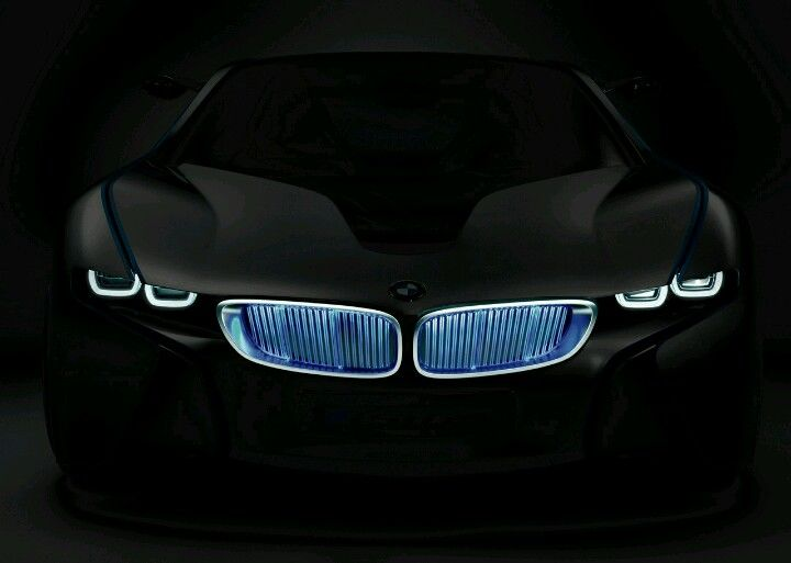 Bmw I8 Blue Neon Glow Dream Car Pinterest Cars Bmw And Bmw Cars