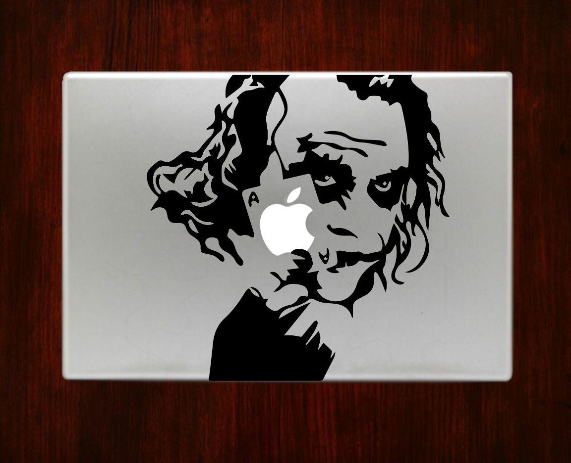 "Joker Batman Dark Knight Return Decal Sticker Vinyl For Macbook Pro Air 13"" Inch 15"" Inch http://ow.ly/XswjU"