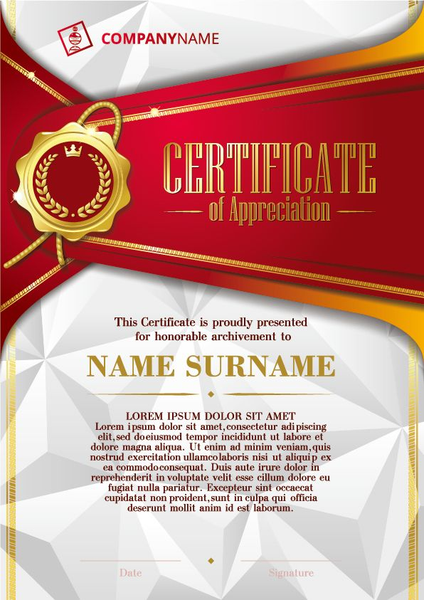 Luxury Diploma And Certificate Template Vector Design Https - Luxury karate certificate template design