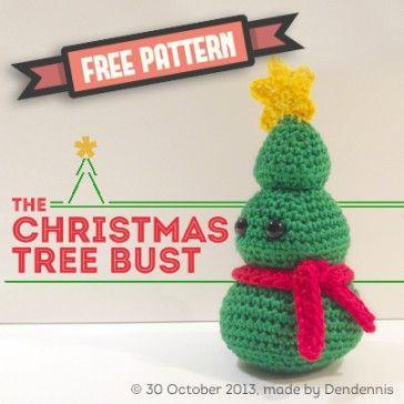 the Christmas tree bust pattern   AMIGURIS   Pinterest   Animales ...