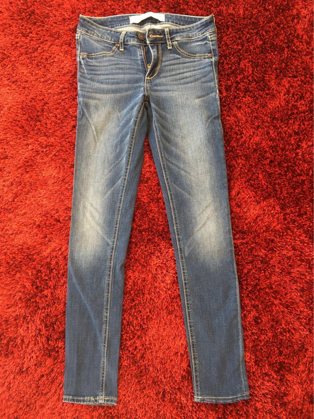 Jeans von Abercrombie& Fitch | Mädchenflohmarkt