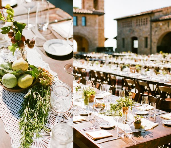 Rustic Wedding Decoration Ideas For Reception: Old California Wedding Part II