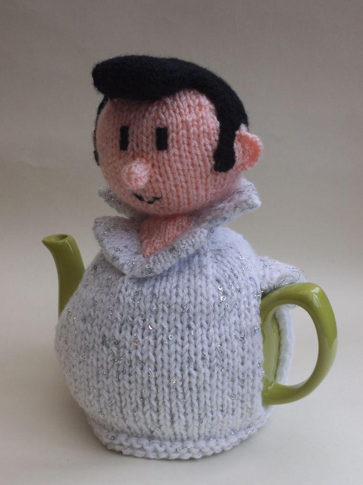 Elvis Tea Cosy Knitting Pattern - Love Tea Tender! (Suit needs some ...