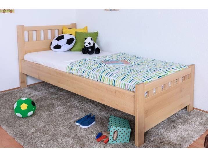 Kinderbett Jugendbett Buche Massiv Vollholz Natur 109 Inkl Lattenr Toddler Bed Home Decor Furniture