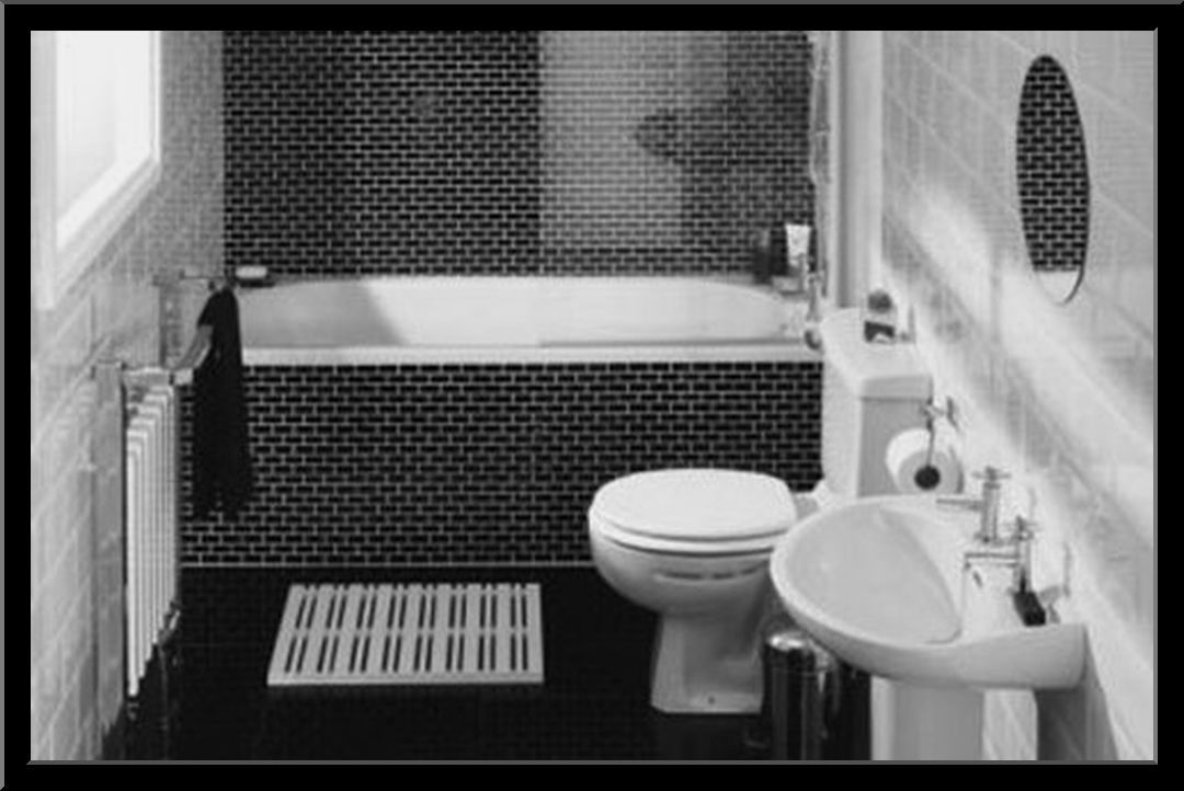 Bathroom Tile Ideas Black And White bathroom floor tile ideas black and white http://www