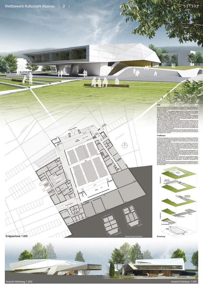9 awesome architectural presentation boards layout images for Prestation architecte