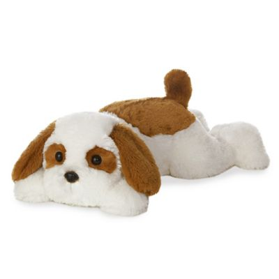Aurora Murphy Dog Plush Toy In Brown White Plush Dog Dog