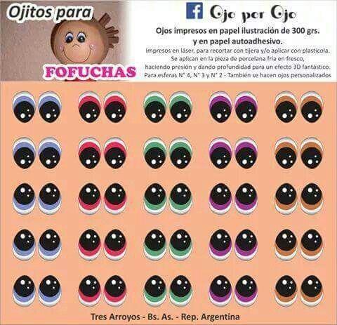 Fofucha Os Olhos Da Boneca Imagens De Olhos Molde De Olhos