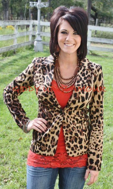 3a66f9d1007e6 Elegant on Arrival Cheetah Print Blazer Leopard Blazer