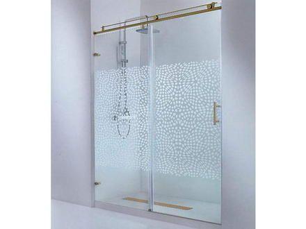 Fotos de venta de puertas de ducha de vidrio lima for Puertas de cristal para duchas