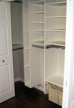 Classic Closet Reach In Closet Closet Corner Reach In