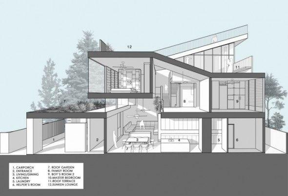Roof Garden Floor Plan