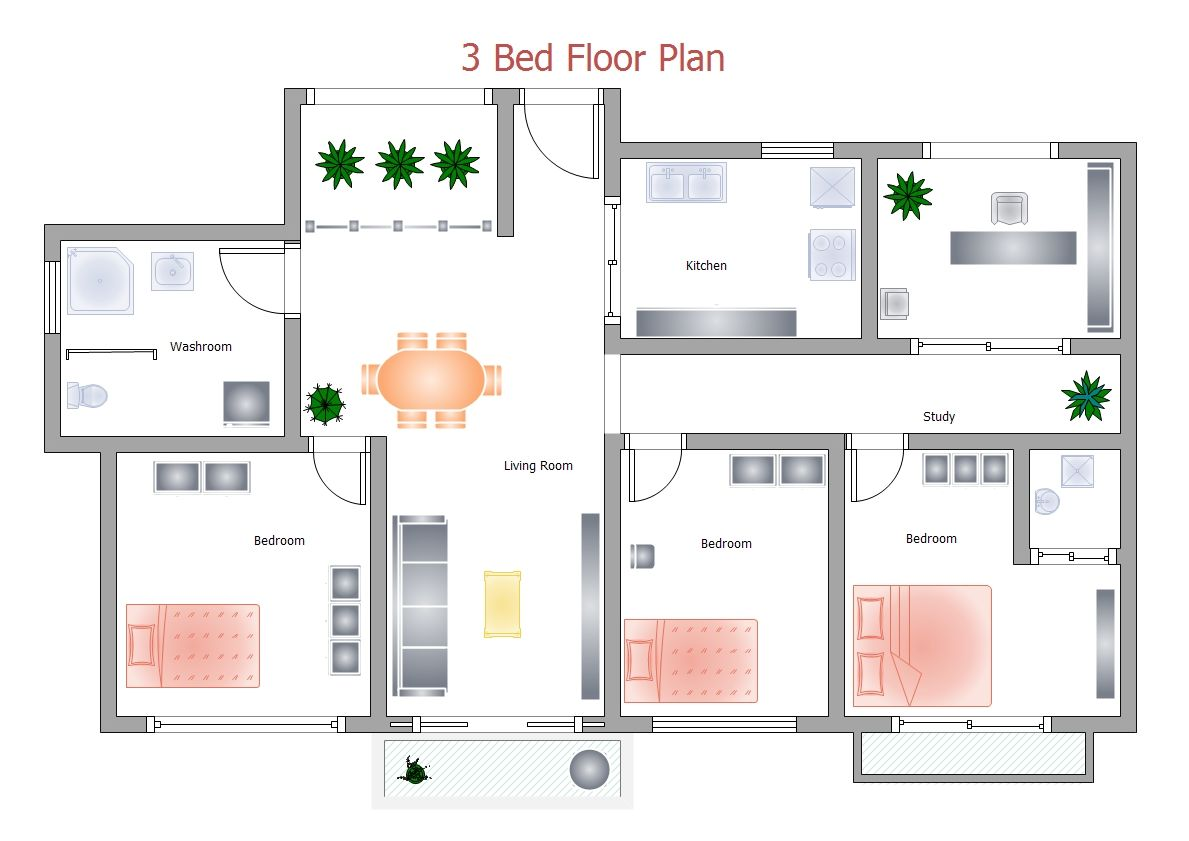 with edraw home plan diagram, you can make your dream come true
