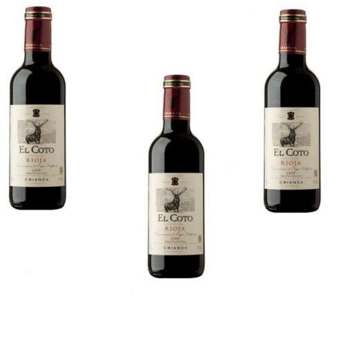 Vin rouge Coto Crianza 33 cl - LOT DE 3