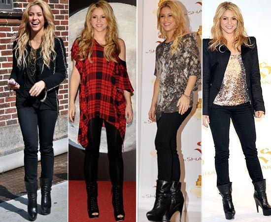 ¿Qué les parece el look de Shakira? : CANELA STYLE