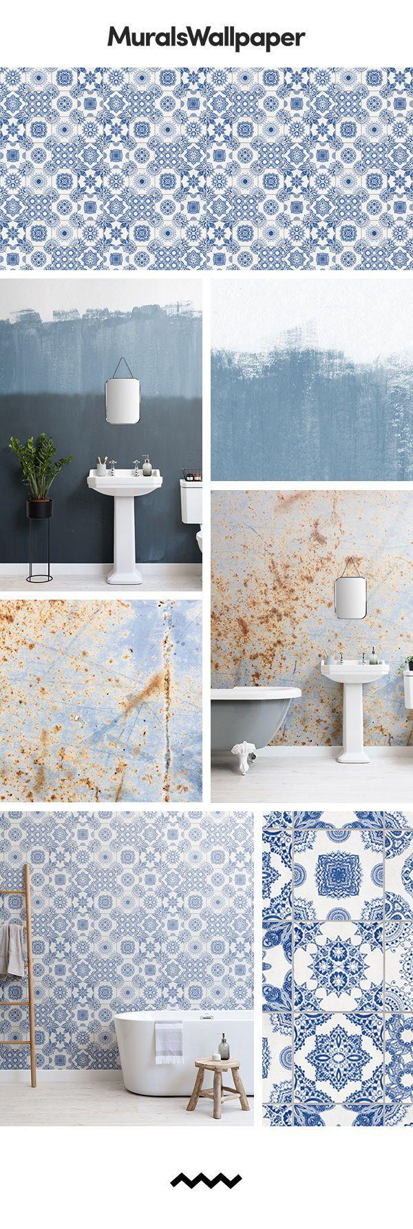 Badezimmer design rustikal erstellen sie ein rustikales blaues badezimmer mit diesen