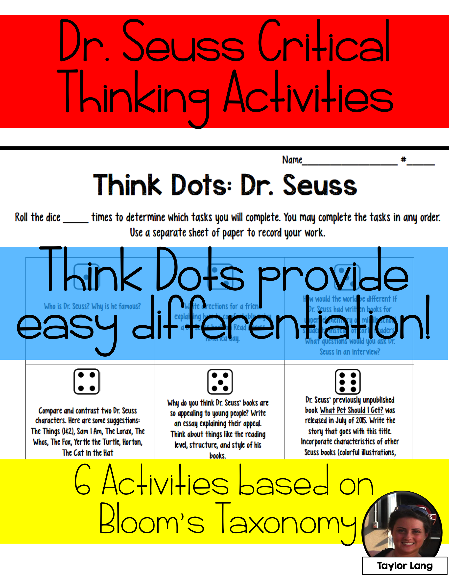 Dr Seuss Think Dots