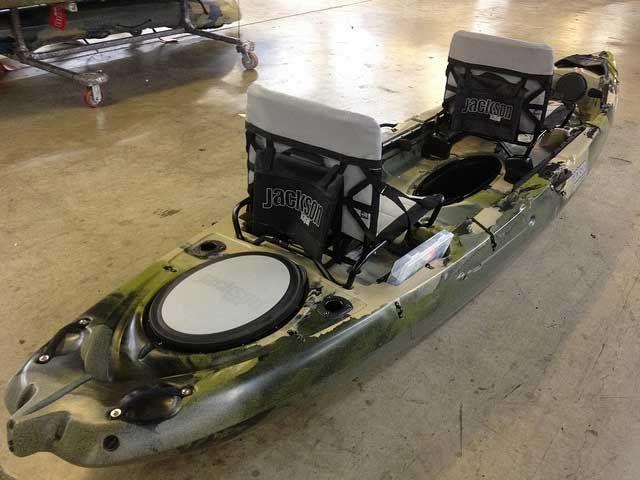 The Big Tuna Jackson S Newest Tandem Fishing Kayak Tandem