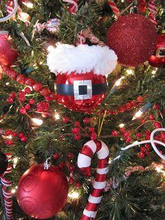 Costurar muitas maneiras ...: Ferramenta Tempo terça-feira ... Ornamento de Santa