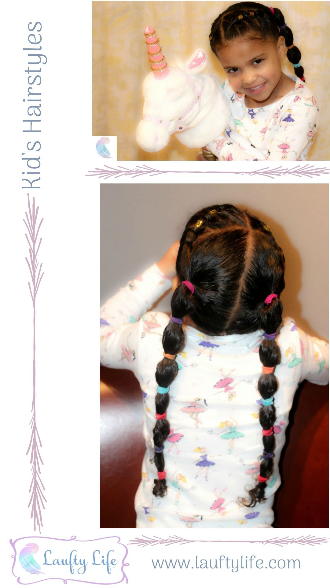 Cute kids hairstyle for girls new styles every week on the blog