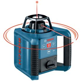 Bosch 800 Ft Beam Self Leveling Rotary Laser Level Lowes Com Laser Levels Bosch Rotary