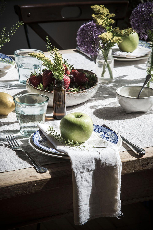 A spring table A spring table