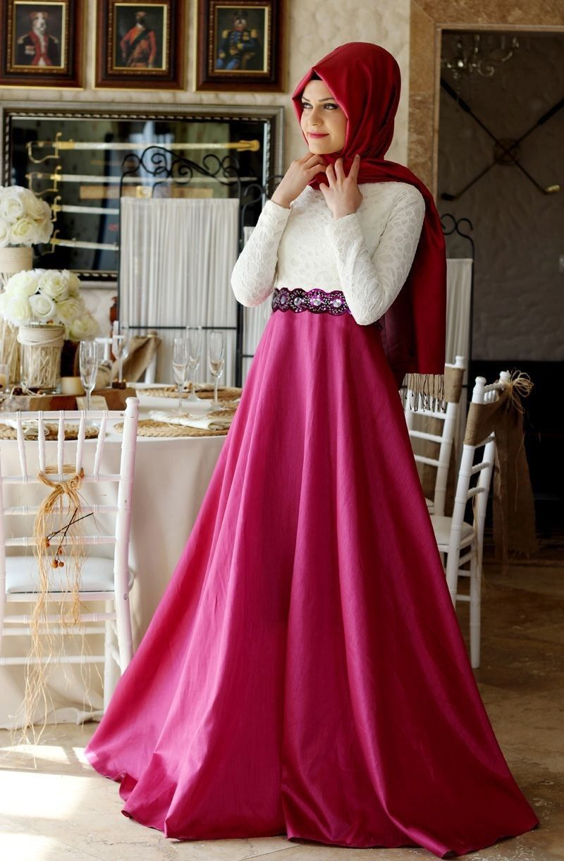 f2b4932735ea full sleeve gowns with hijab - Google Search